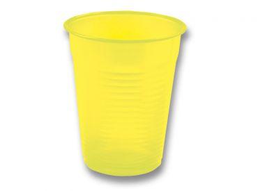 Universalbecher 180 ml gelb 1x100 Stück