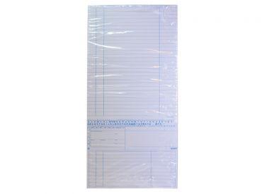 Karteimappe Simplex-Cedip weiß für den Praktischen Arzt, Allgemeinmediziner und Internisten 1x250 Stück