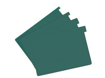 Signalkarten A5 grün TAB: 10 mm hoch 1x100 Stück