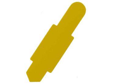 Karten-Reiter gelb für Karteitasche A4 111583 und Hülle 110596 1x100 items