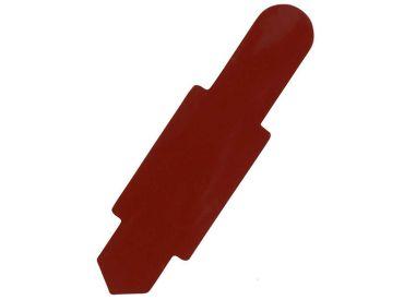 Karten-Reiter dunkelrot für Karteitasche A4 111583 und Hülle 110596 1x100 Stück