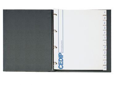Karteimappe Simplex weiß, für Zahnärzte 1x250 Stück