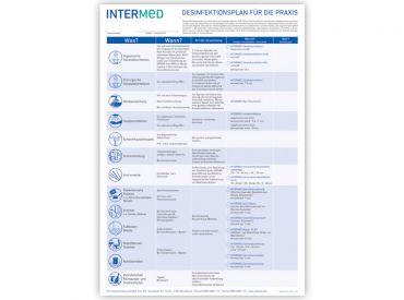 INTERMED Desinfektionsplan für die Praxis 1x1 Stück