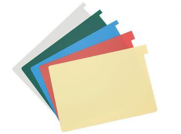 Signalkarten A5 grau TAB: 10 mm hoch 1x100 items