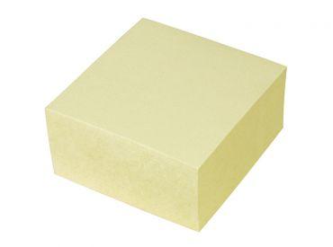 Pro/office Haftnotizwürfel, gelb, 400 Blatt 1x1 Stück
