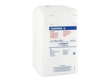 TOPPER 8-Kompressen, 7,5 x 7,5 cm, unsteril 1x100 Stück