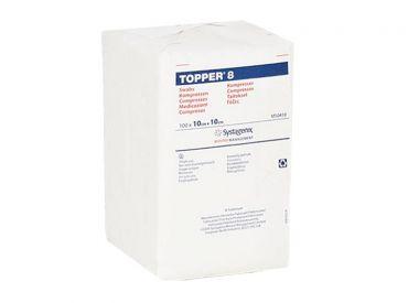 TOPPER 8-Kompressen, 10 x 10 cm, unsteril 1x100 Stück