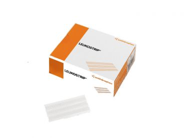 Leukostrip steriler Wundnahtstreifen 102 x 13 mm 50x6 Stück