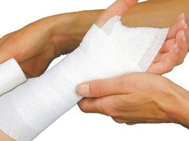 Lenkideal® 5 m x 4 cm weiß ohne Verbandklammern 1x10 items