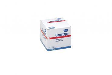 Omnitape®, 5cmx10m, weiß, stark klebendes Pflasterband,unelastisch, sehr zugfest, leicht reißbar, auf Kunststoffspule 1x1 Role