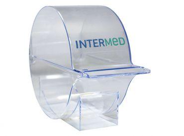 INTERMED Zellstofftupfer-Box leer 1x1 Stück