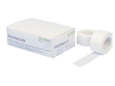 MaiMed®-silk Rollenpflaster 5,00 cm x 9,1 m in einer Spenderbox 1x6 Stück