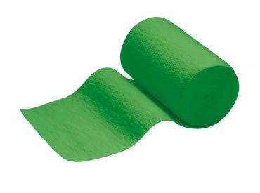 INTERMED Idealbinde, 5 m x 4 cm, grün, mit Verbandklammern, 1x10 Stück