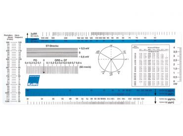 EKG - Lineal Kunststoff 1x1 items