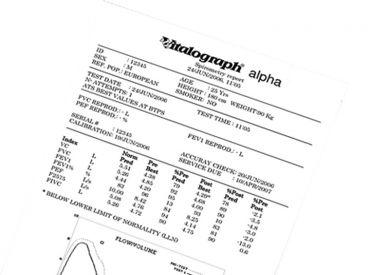 Druckerrolle Vitalograph Alpha 110 mm x 30 m 1x1 Rollen