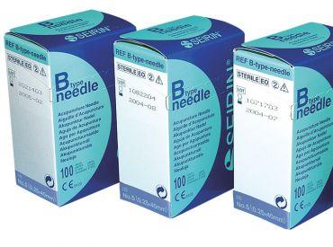 Akupunkturnadeln Seirin® B-Type, 0,25 x 40 mm Körper; für Kinder 1x100 Stück