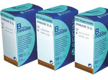 Akupunkturnadeln Seirin B-Type, 0,30 x 50 mm Körper; für Erwachsene 1x100 Stück