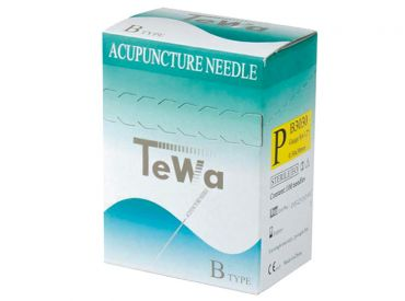 TeWa Acupuncture needles B-type, 0.30 x 30mm 1x100 items
