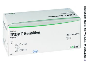 Roche TROP T® Sensitive, without dosing pipettes 1x10 items
