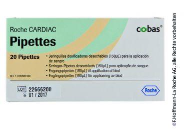 CARDIAC Pipetten zur Dosierung von 150 µl 1x20 items