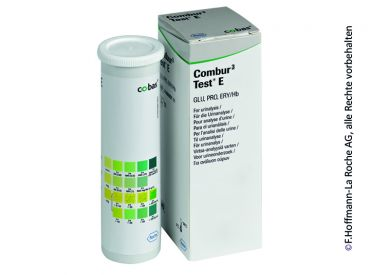 Combur 3 Test® E 1x50 Teste
