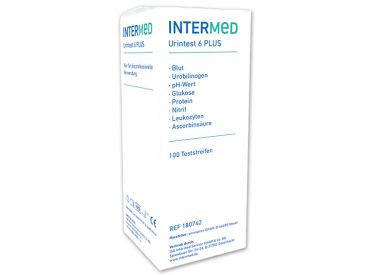 INTERMED Urine test 6 PLUS 1x100