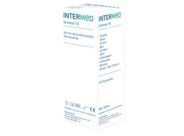 INTERMED Urintest 10 1x100 Teste