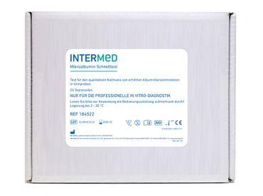 INTERMED Mikroalbumin Schnelltest, Streifenversion 1x25 Teste