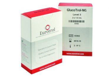 HemoCue® GlucoTrol NG Level 3, Messbereich 180mg/dl 2x1 ml