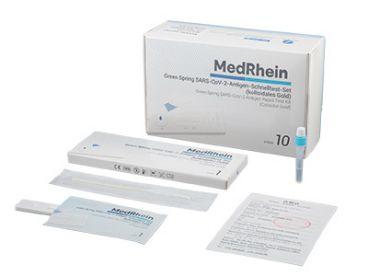 Corona-Schnelltest: Green Spring® SARS-CoV-2-Antigen-Schnelltest, 1x10 Teste