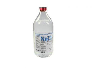 Isotonische Kochsalzlösung B.Braun 0,9 % Glasflasche 1x500 ml