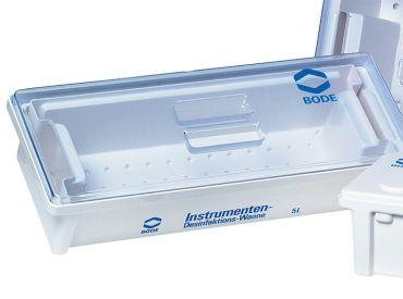 Bode Desinfektionswanne, 5 Liter, 550 x 200 x 120 mm (L x B x H) mit Deckel 1x1 Stück