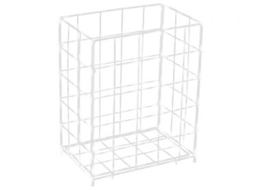 Sammelkorb groß 63,0 x 41,0 x 25,5 cm (H x B x T) weiß 1x1 items