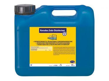 Korsolex® Endo-Disinfectant Desinfektionsmittel für die chemo-thermische Endoskopaufbereitung 1x5 Liter