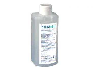 INTERMED Händedesinfektion GEL, rückfettend, viruzid 1x500 ml