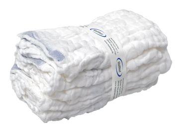 MaiMed®-Bauchtuch unsteril, 6-lagig, 45 x 45 cm, weiß 1x20 items