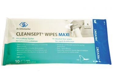 Cleanisept® Wipes Maxi 20 x 22 cm, 1x10 Tücher
