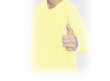 BeeSana® PP/PE Schutz-Kittel gelb 1x10 Stück