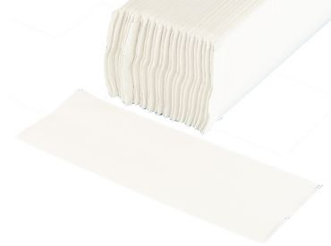Fripa Ideal towels bright white 25 x 33cm, 20 x 156 Sheets 1x3120