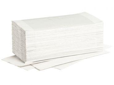 Fripa Ideal towels bright white 25 x 23cm 20 x 250 Sheets 1x5000