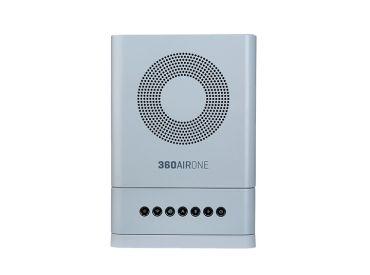 Luftreiniger 360AIRONE® system i10, Farbe Platin 1x1 items
