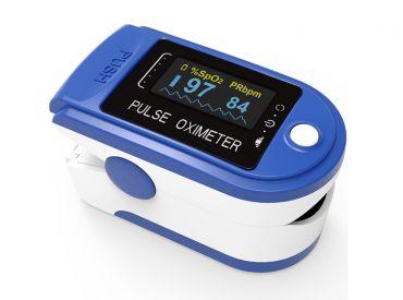 Fingerpulsoximeter PULOX PO-200 Solo blau 1x1 items