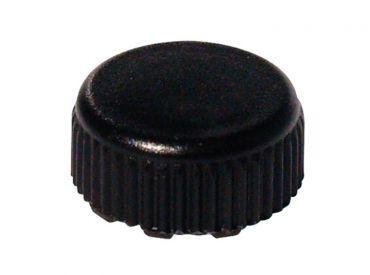 Schraubverschluss für Mikro-Röhren schwarz 1x10000 Stück