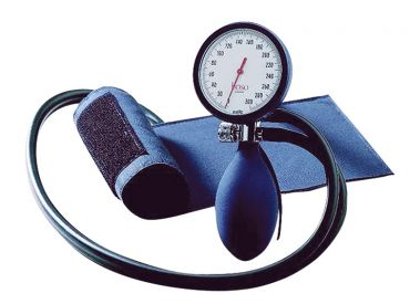 Sphygmomanometer boso-clinicus II blue, scale Ø=60 mm, standard cuff with velcro, arm circumference = 22-32 cm 1x1 items