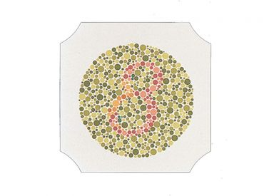 Farbtafeln nach Ishihara, Buch mit 14 Tafeln 1x1 items