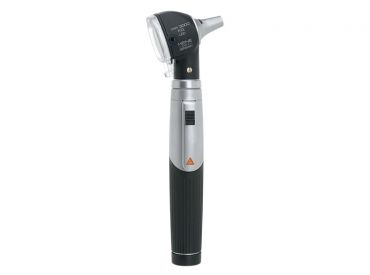 HEINE mini 3000® LED F.O.Otoskop mit Batteriegriff, schwarz 1x1 Stück