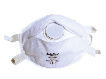 Feinstaubmaske SAFELINE FFP3 S, mit Ventil, 1x5 Stück