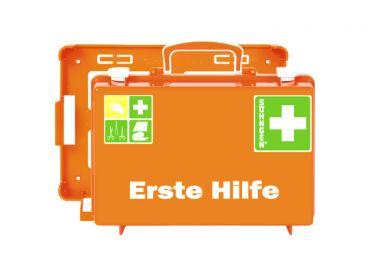 Erste Hilfe Koffer SN-CD Norm, orange 1x1 Stück