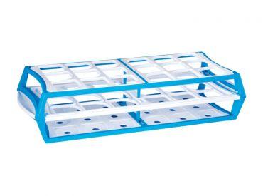 Ständer aus Polypropylen blau 1x1 Stück