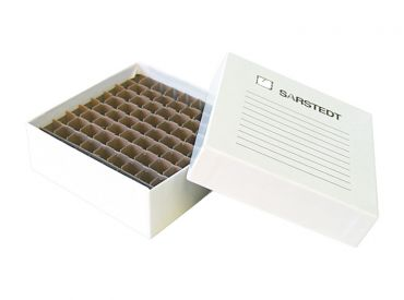Lagerkasten für 81 Mikroröhren 1x1 Stück